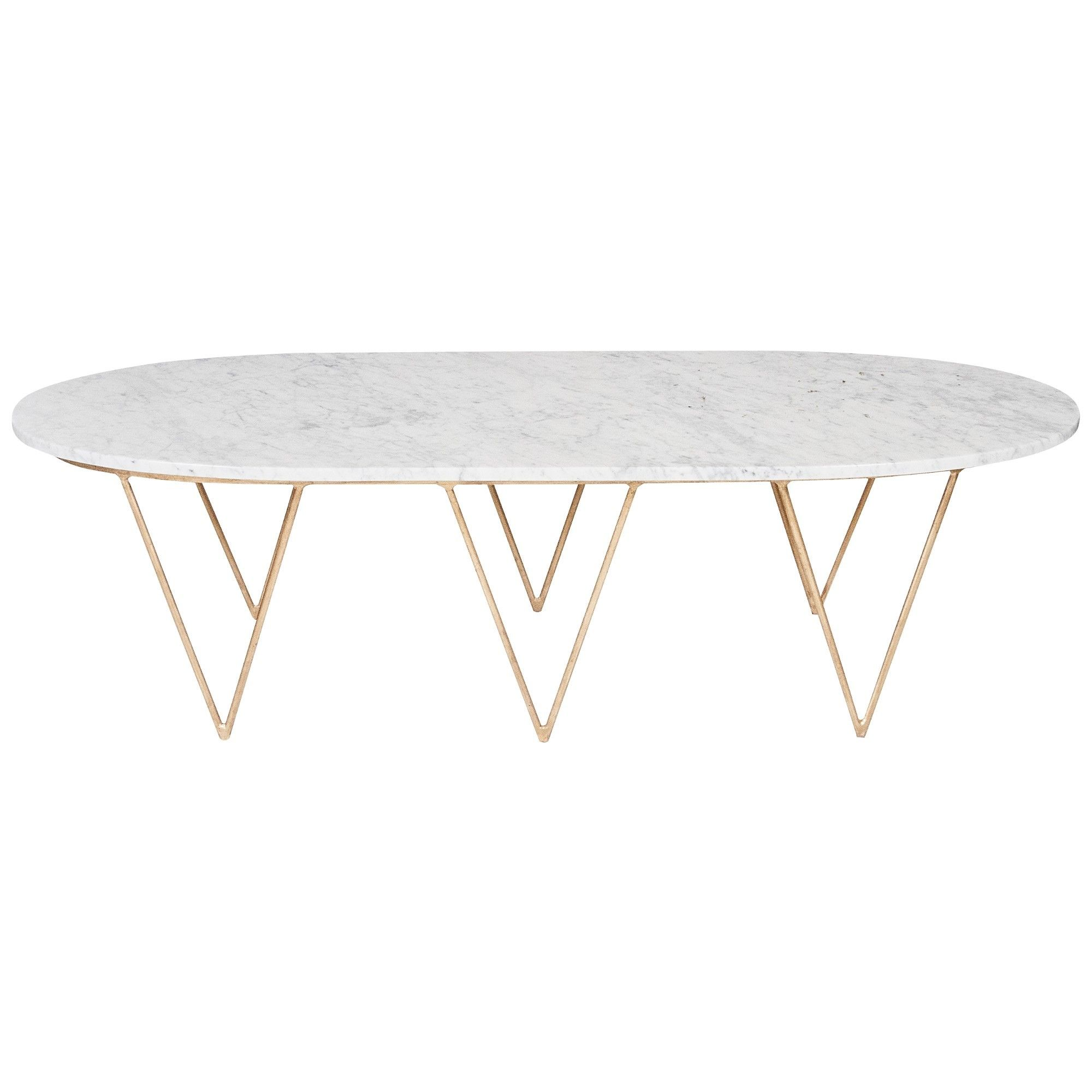 Furniture Oval Unique White Marble Top Coffee Table Ideas For