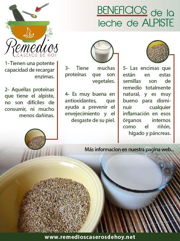 Conoce Los Beneficios De La Leche De Alpiste Remedios Naturales