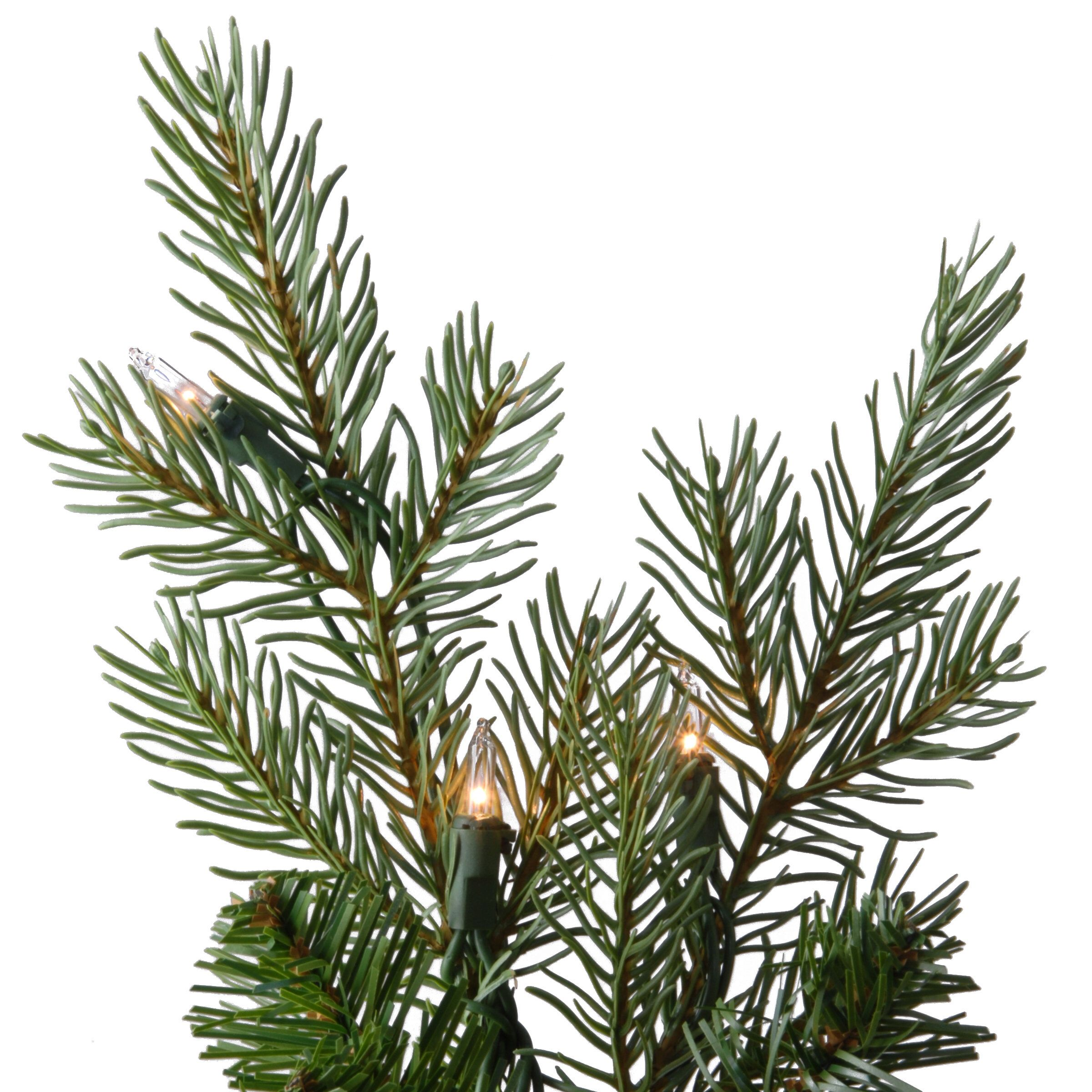 Nordic 7.5' Green Spruce Artificial Christmas Tree with