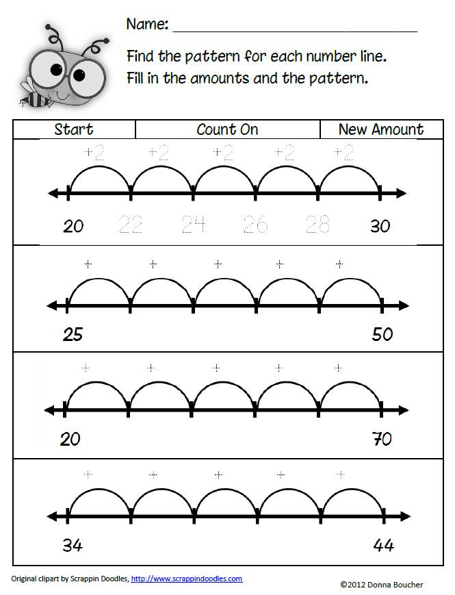 Pattern Worksheets math number pattern worksheets : More Connections | Maths, Number and Students