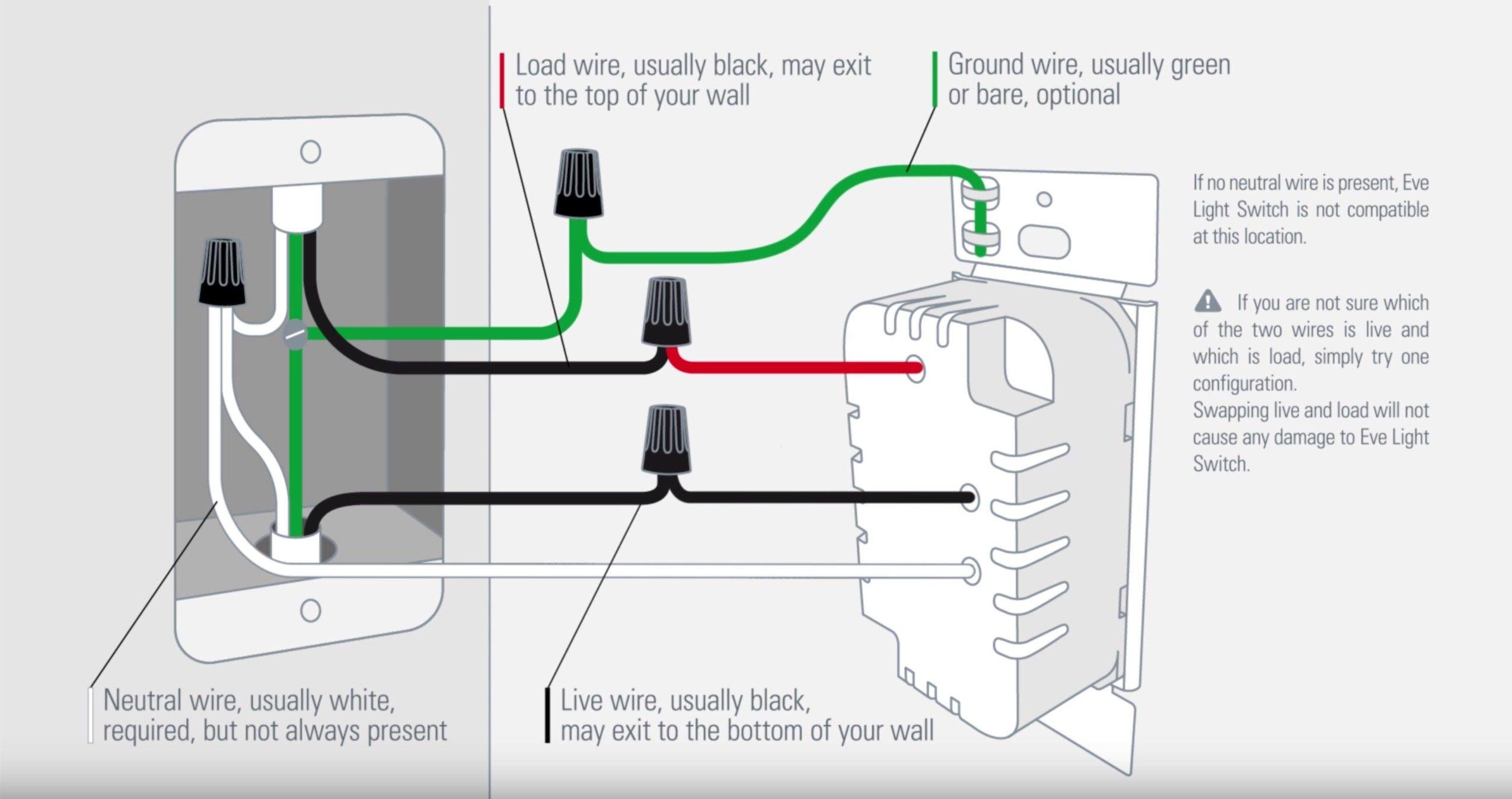 Unique Light Switch Connection Diagram diagram