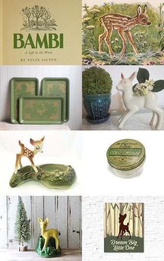 Disney's Bambi by Susan Fischer on Etsy--Pinned with TreasuryPin.com