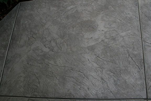 Italian Slate Stamped Concrete Stamped Concrete Patio Stamped Concrete Concrete Patio