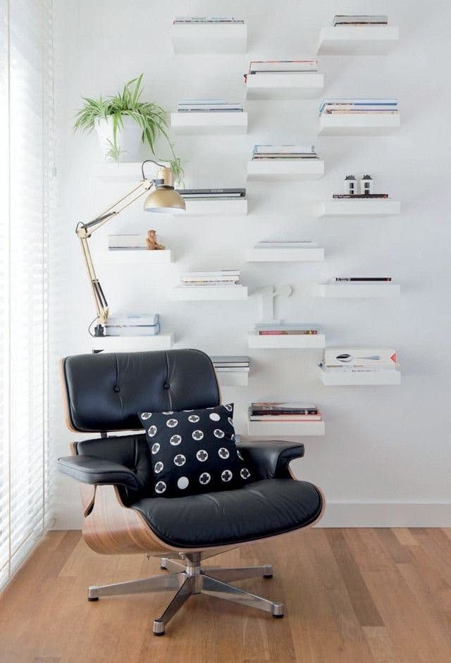 11 Ways To Use IKEAs Lack Shelves In Every Room Of The House
