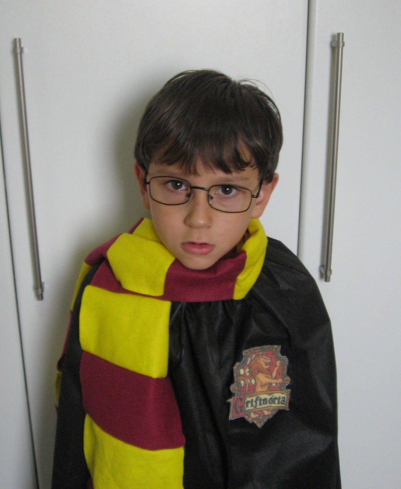 Fala, mãe!: DIY: Fantasia craft Harry Potter Carnaval = fofo demais!