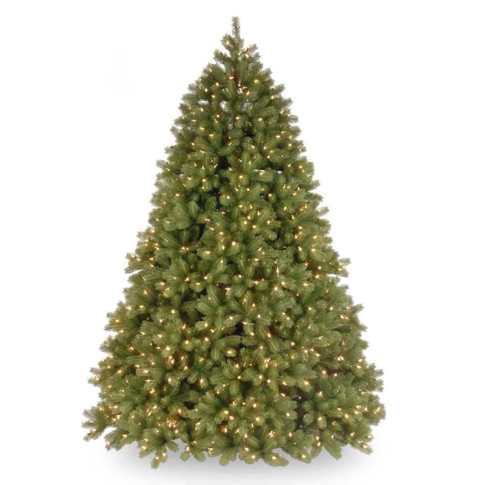 Home Depot Real Christmas Tree Prices: National Tree Company 7-1/2 Ft. Feel Real Deluxe Downswept
