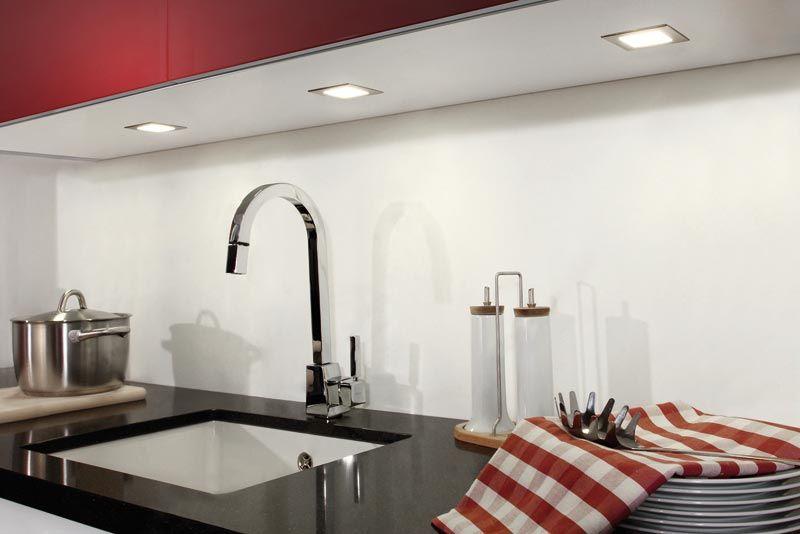 LED Einbaustrahler Toni | LED-Küchenbeleuchtung | Beleuchtung ...