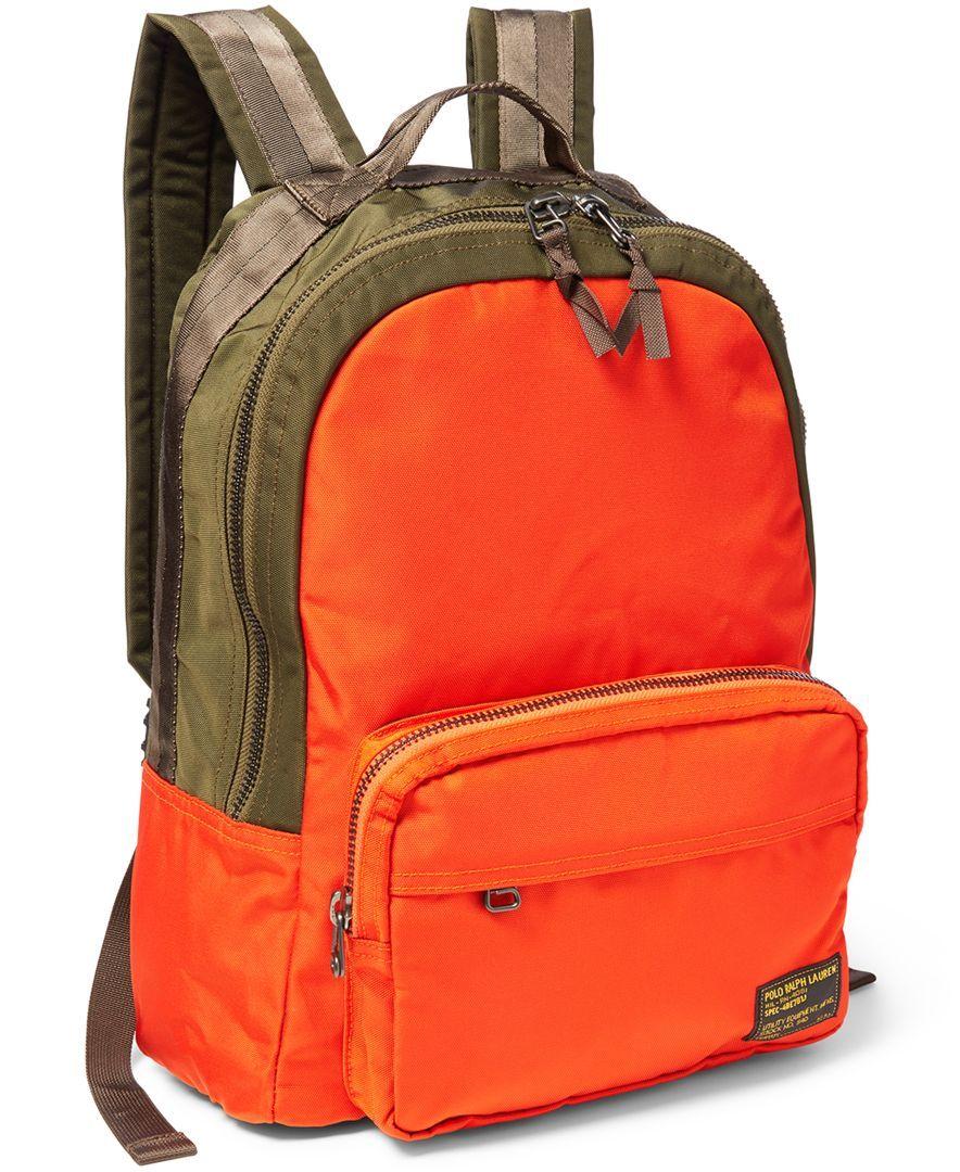 f9a5b879f6 Polo Ralph Lauren Camo-Print Military Backpack