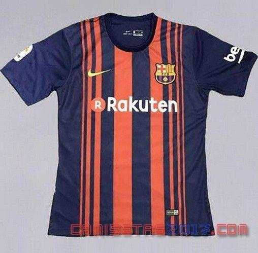 2017 2018 temporada camiseta del Barcelona en casa filtró - Camiseta del barcelona, Camisetas de ...