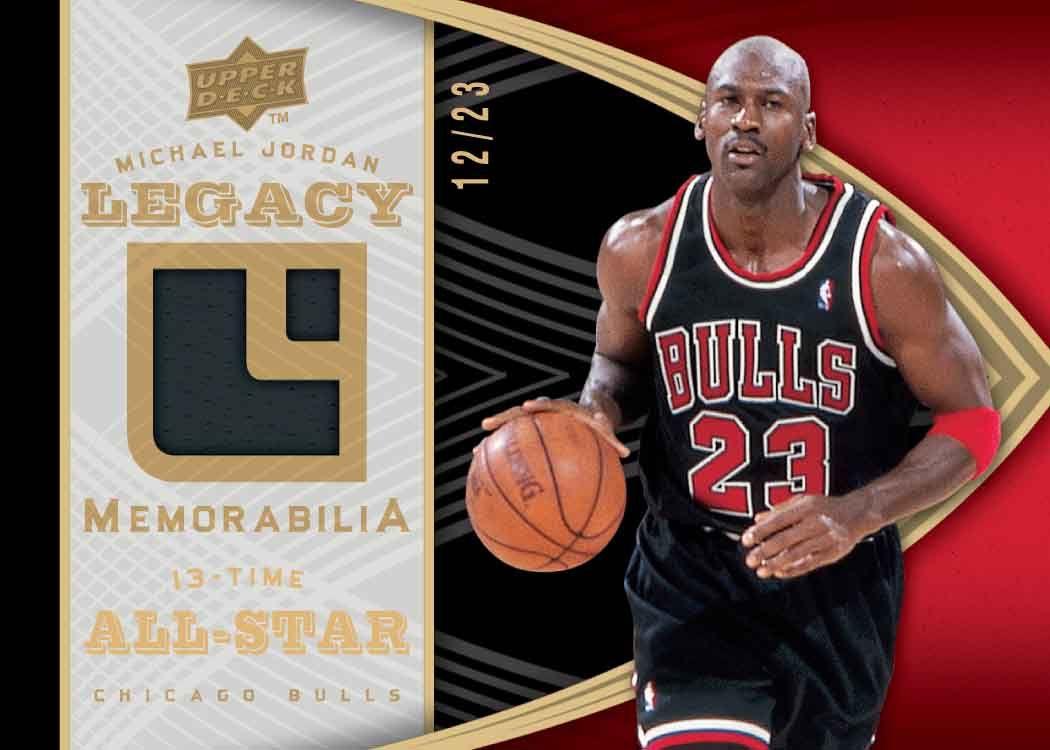 Michael Jordan Cartes De Temps Dantenne