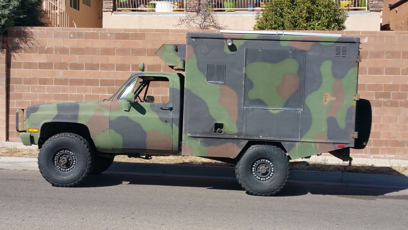 Chevy Military Trucks For Sale >> 1985 Chevrolet Military Cucv M1010 Truck Ambulance