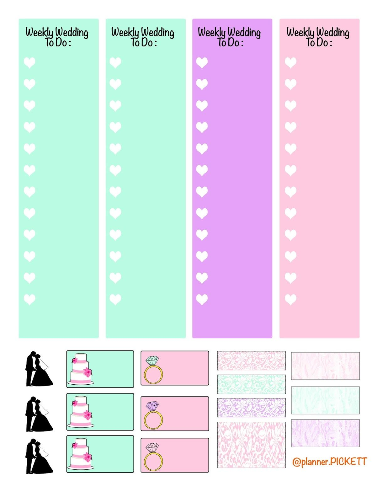Enjoy This Super Cute Free Printable Summer Planner Stickers Kit