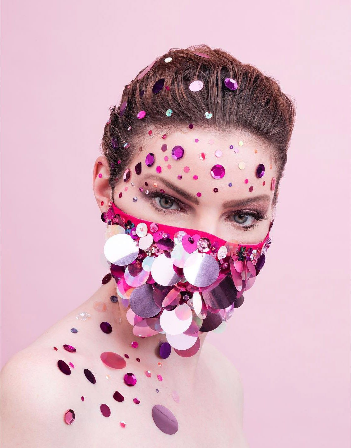 Artisan Face Masks by Anne Sophie Cochevelou in 2020