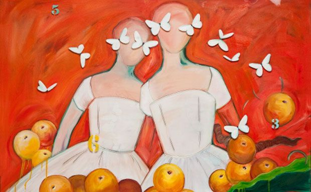 Rich in Color & Symbolism describes Artist Honora Jacob's Work