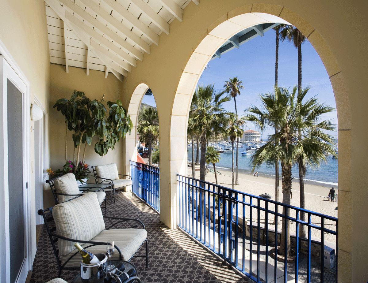 Ocean View Suite At Hotel Vista Del Mar On Beautiful Catalina Island