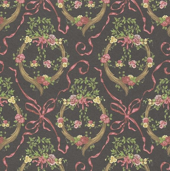 Dollhouse Wallpaper     Model: BP1EC100     Manufactured by: Brodnax Prints