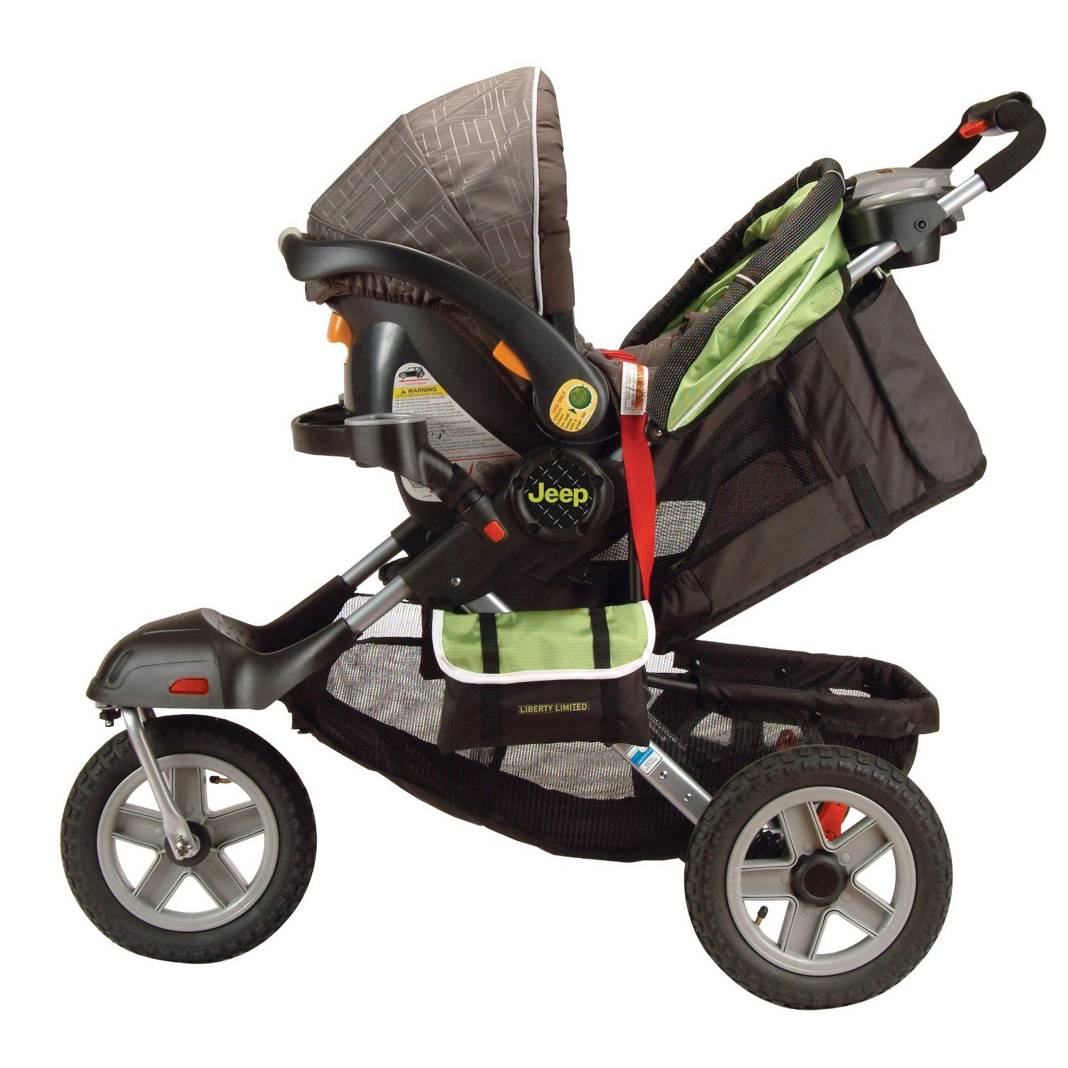 Jeep Stroller Best Ever If Dad Wants One Let Him Get It Lots Of Storage Inflatable Wheels Good Turning Ra With Images Jeep Stroller Best Baby Strollers Baby Strollers