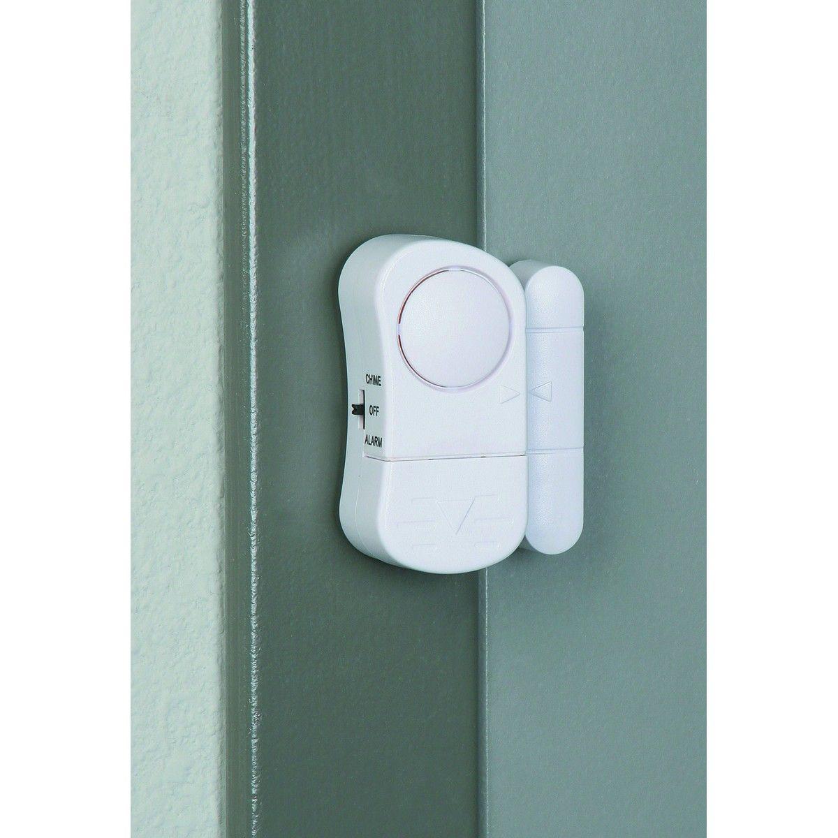Garage door alarm sensor - Bunker Hill Security 94983 Door Window Entry Alarm