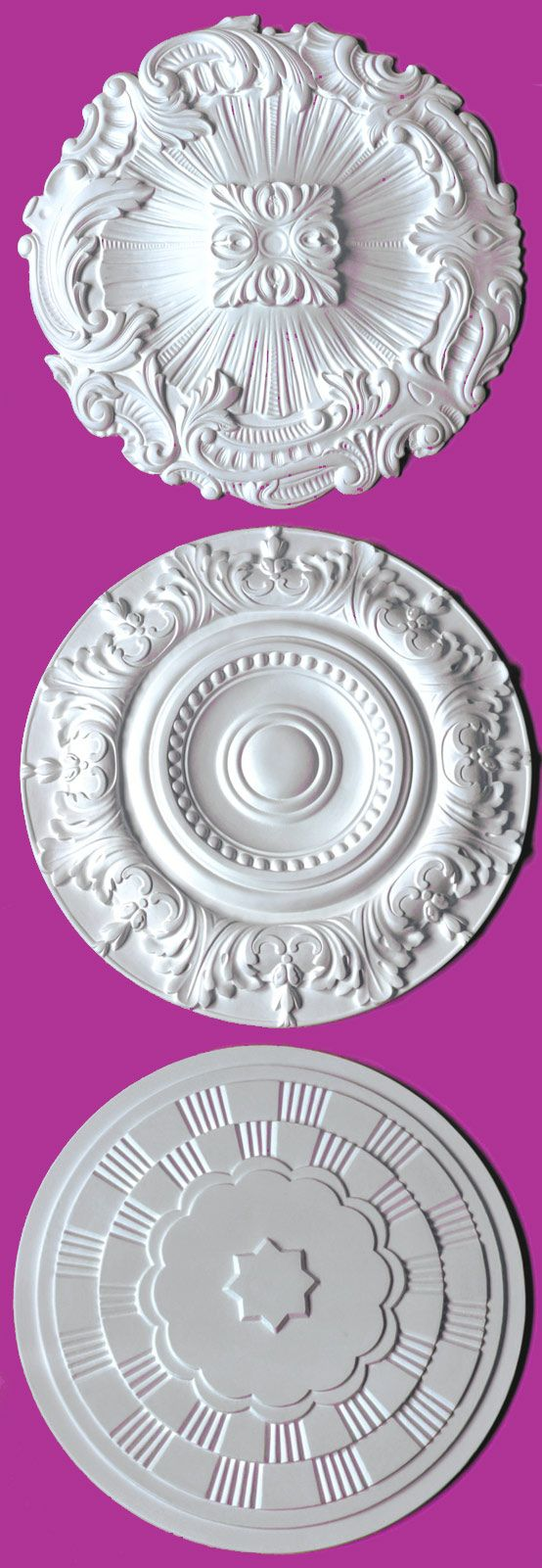 Plastering Ceiling Rose From Staff Decor Hamburg