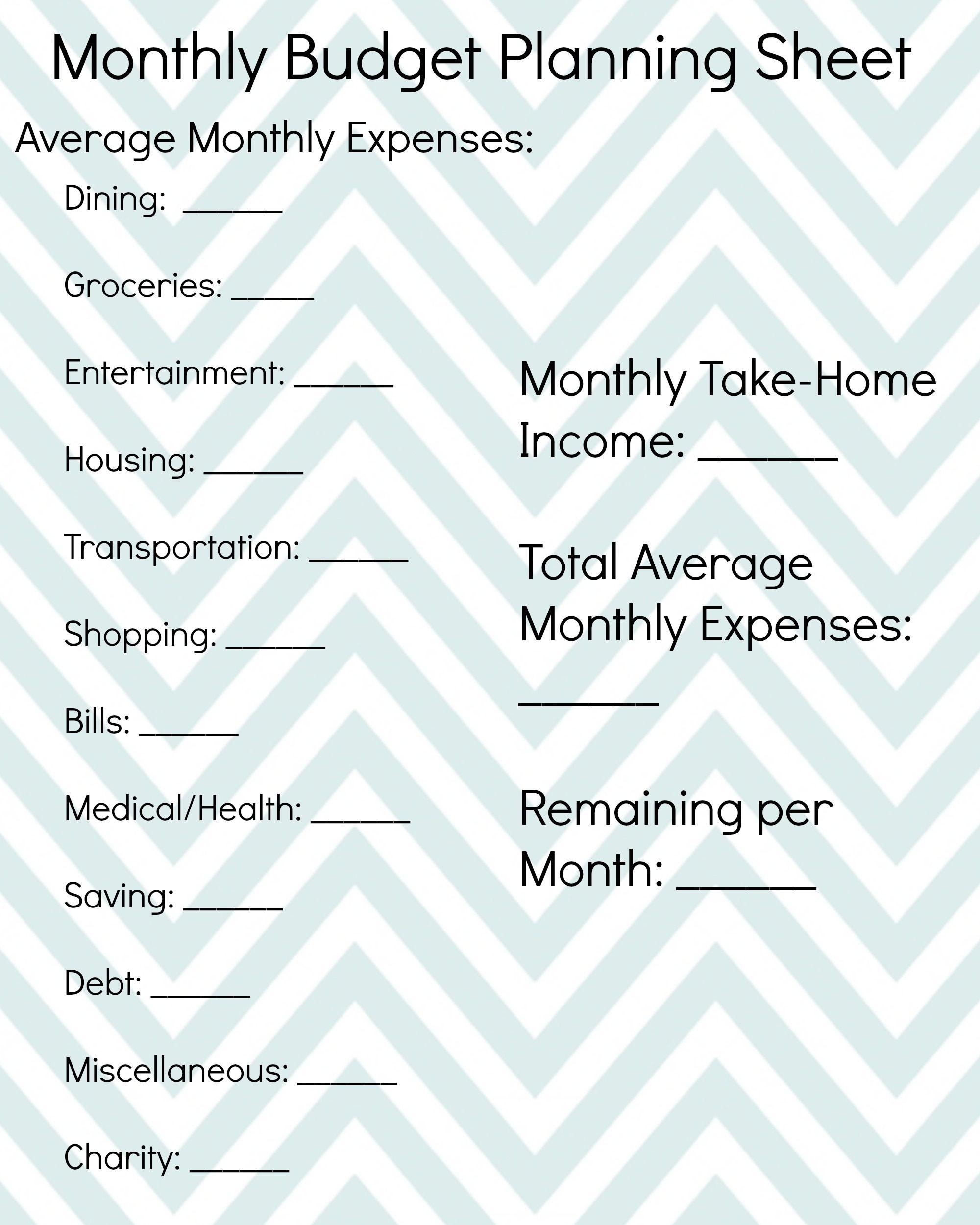 Financial Freedom Friday How To Start Planning A Budget