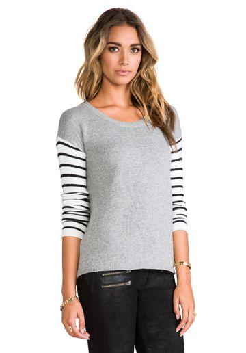 Striped Block Sweater
