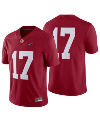 official photos 4eda7 c0a65 Nike Men s Alabama Crimson Tide College Football Playoff Game Jersey - Red  XXL