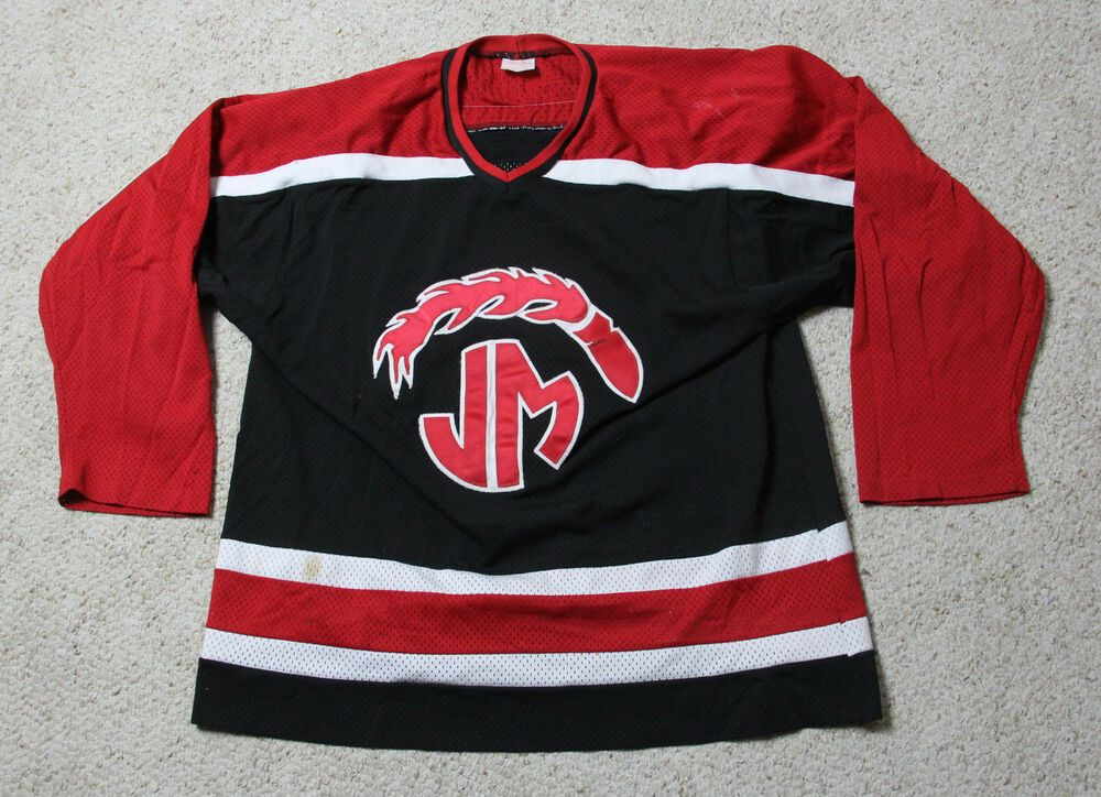 JOHN MARSHALL ROCKETS #7 Sz XL High School Hockey Jersey