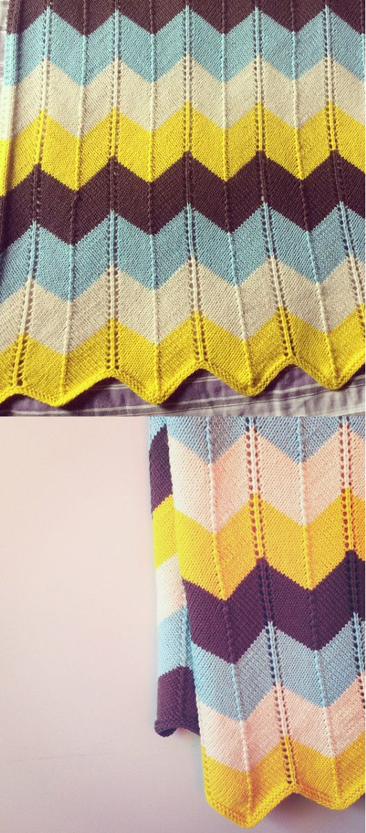 Chevron Blanket Free Crochet Pattern | Blankets Free Crochet ...