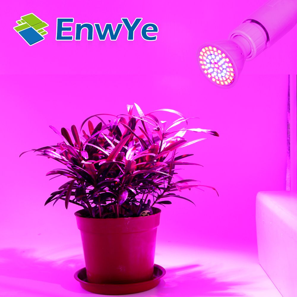 Led Lampada Cfl Cresce A Luz E27 E14 Mr16 Gu10 110 V 220 V Espectro Completo Planta Lampada Para Plantas De Inte Led Grow Lights Grow Lights Hydroponics System