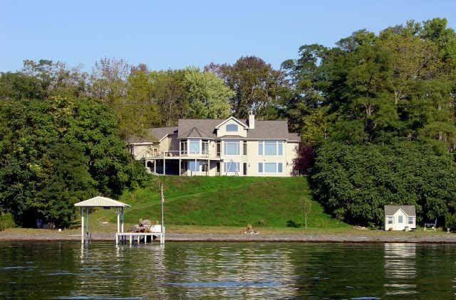 Seneca Lake House Lake Vacation Rental Lake House House