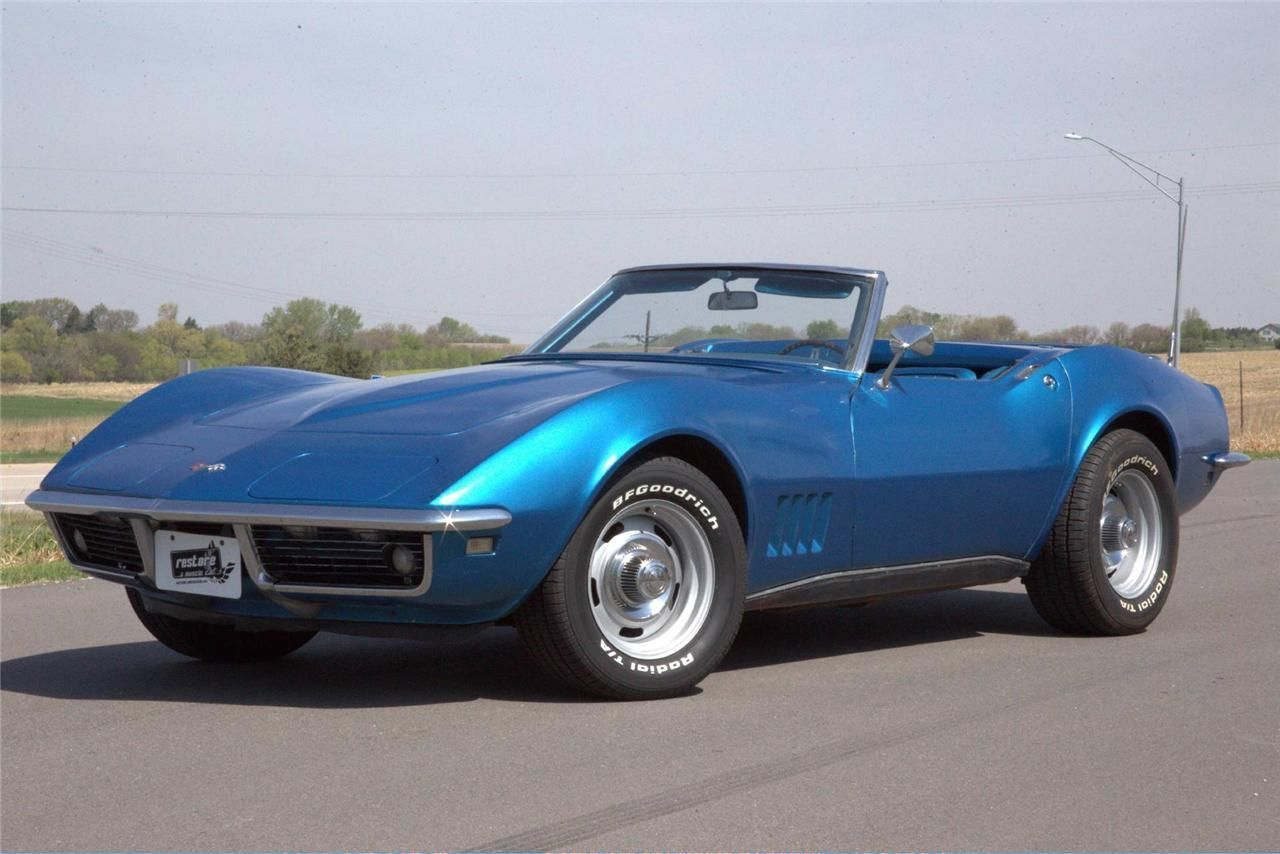Pin by Jackie Ray on Corvettes Classic corvette, 1969