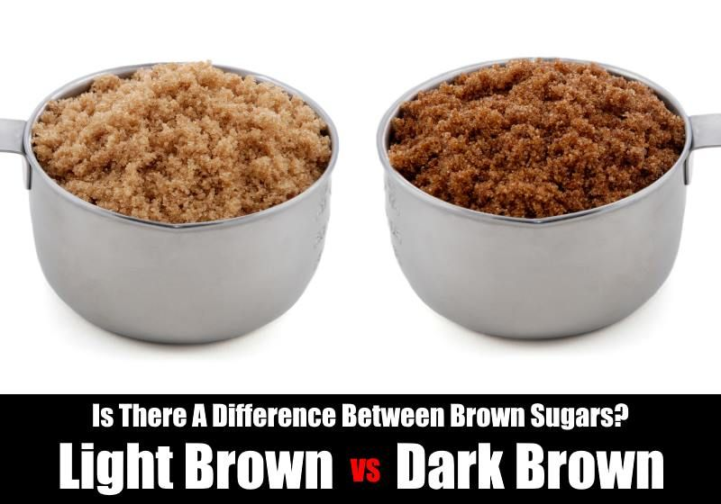 How Are Dark And Light Brown Sugars Different Soften Brown
