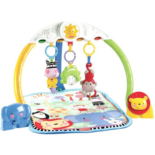 Fisher-Price - Tracking Lights Musical Gym