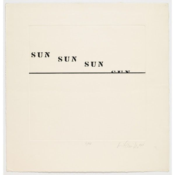 Luis Camnitzer - Visual - poetry