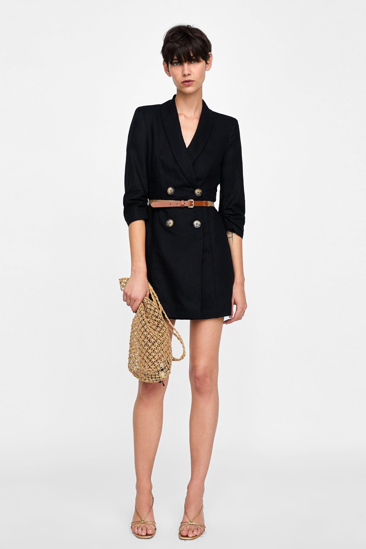 outlet for sale buy good factory authentic Robe veste à ceinture in 2019 | Leg Styles | Blazer fashion ...