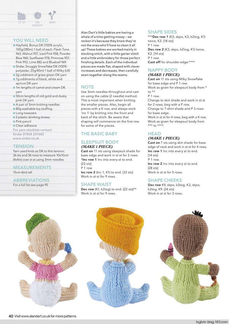 Simply Knitting №161 2017 - 轻描淡写 - 轻描淡写 | Doll Clothes ...