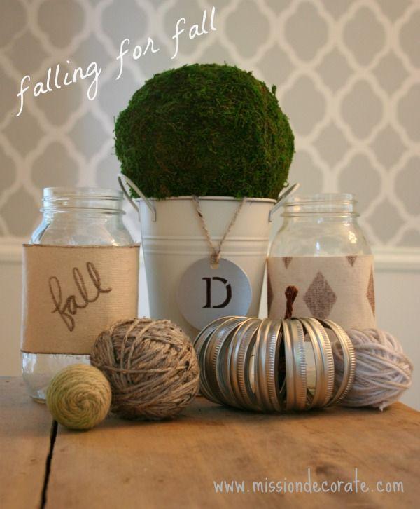 Falling for Fall Decor