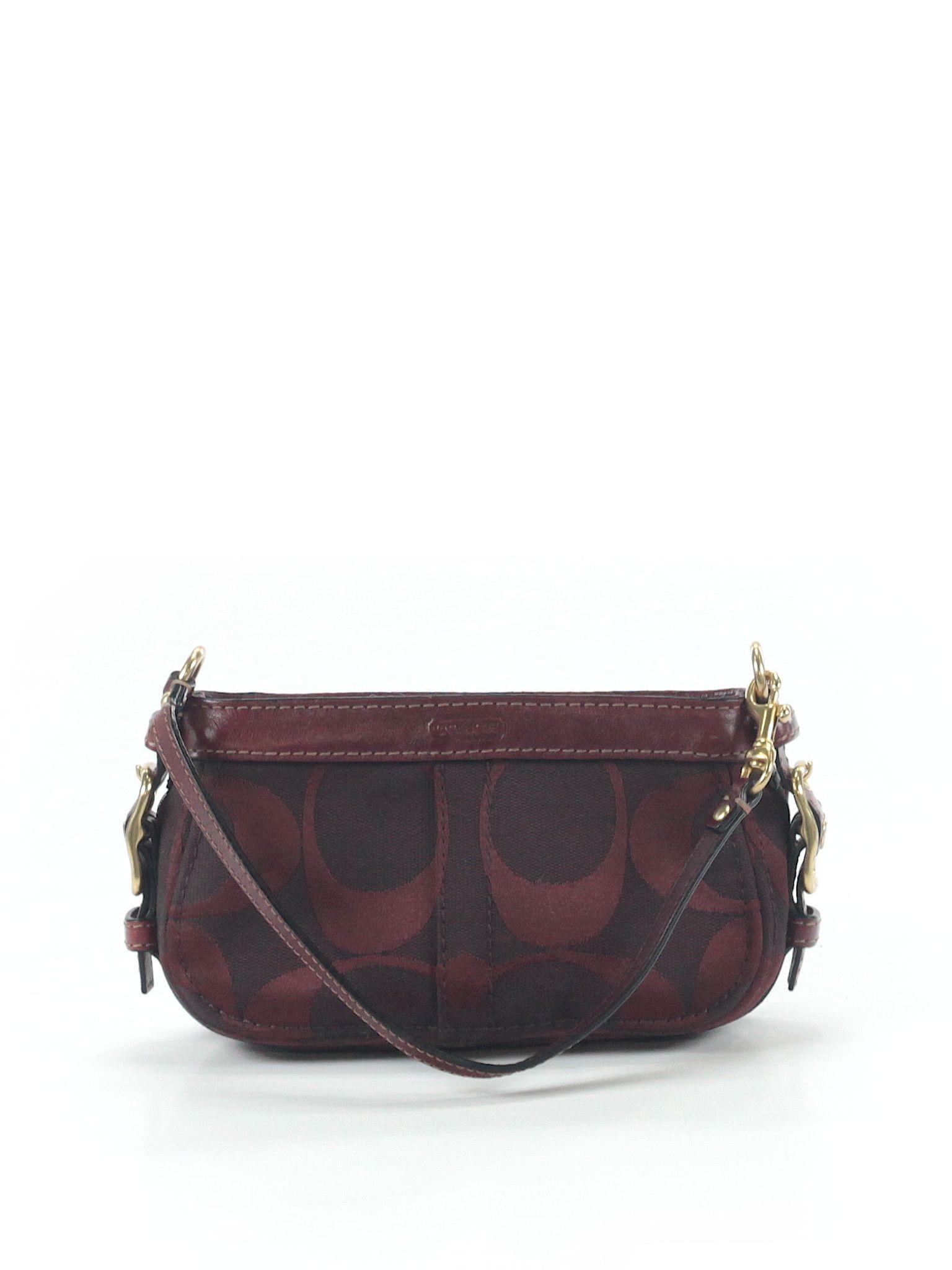 425ce7cff2a6 Coach Shoulder Bag  Burgundy Women s Bags - 26760604