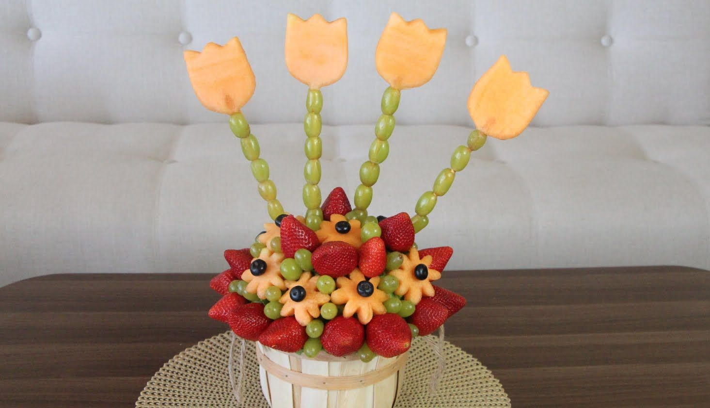 diy- edible fruit arrangement | janie | pinterest | edible fruit