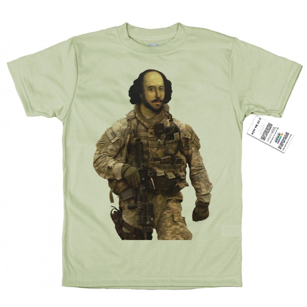 Sgt. Shakespeare T shirt Design