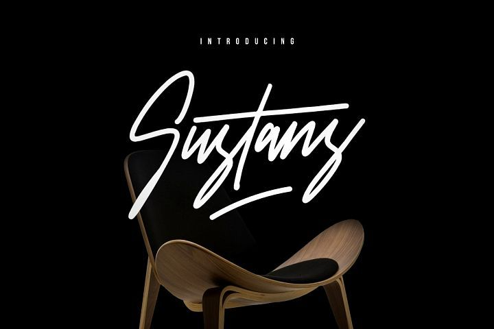 Sustans Typeface Signature Fonts Typeface New Fonts