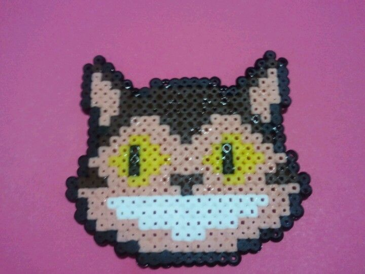 gatobus de la pelicula de Totoro hama beads