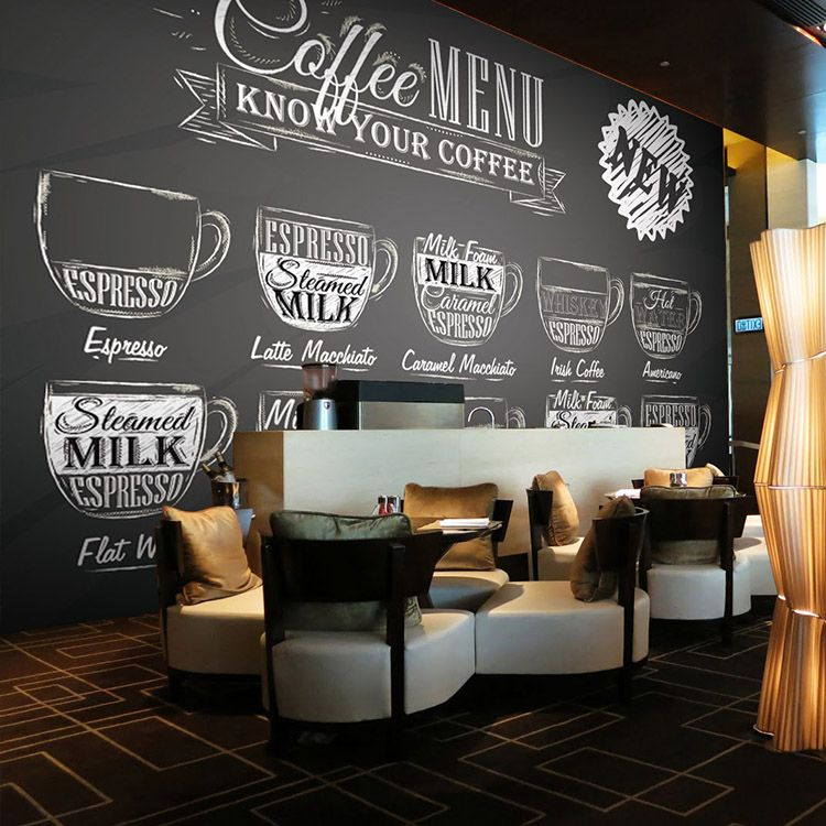 Free Shipping Black White Graffiti 3D Mural Coffee Shop Leisure Bar Living  Room Bedroom Sofa Television Part 80