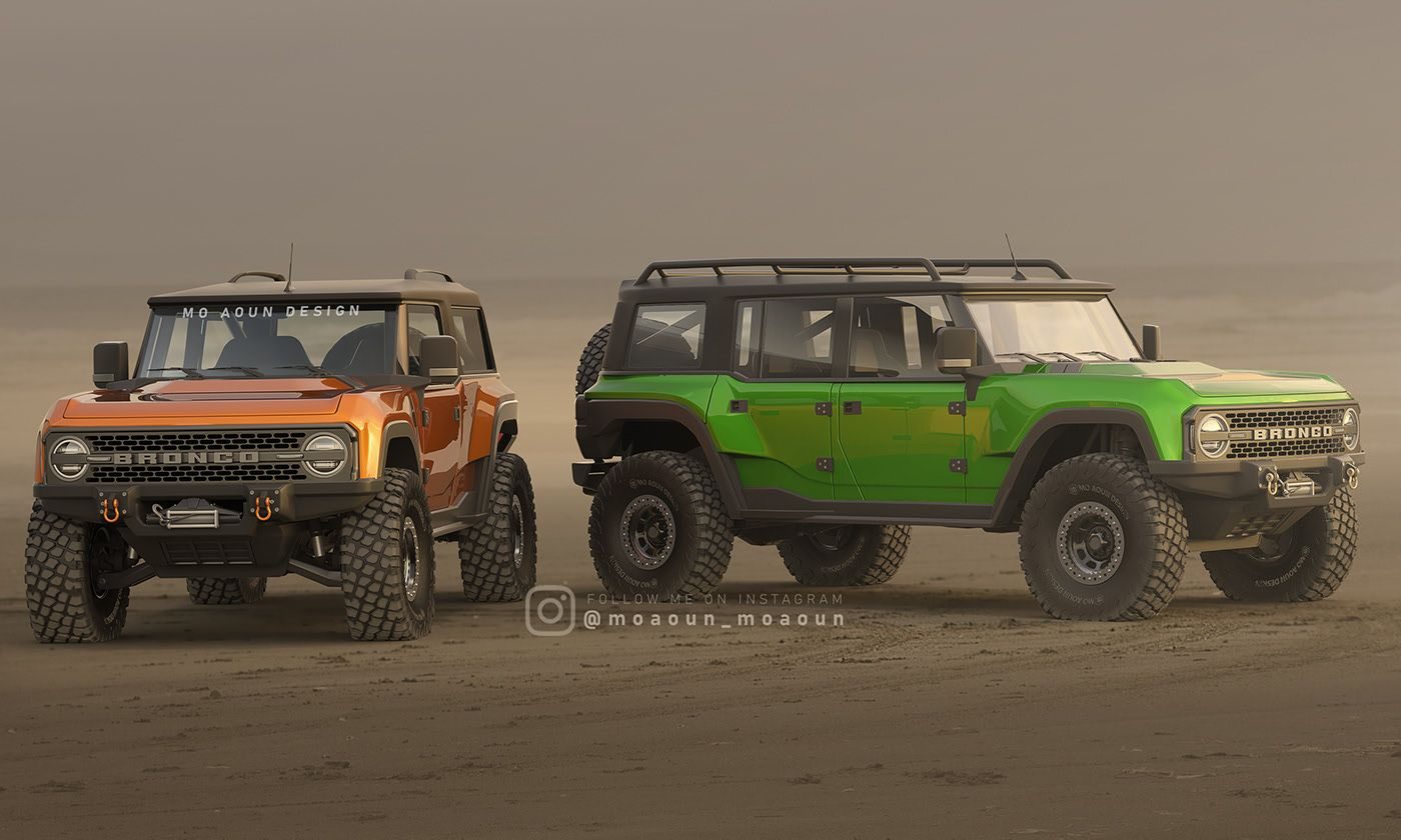 Ford Bronco 2020 On Behance In 2020 Ford Bronco Bronco Bronco Concept