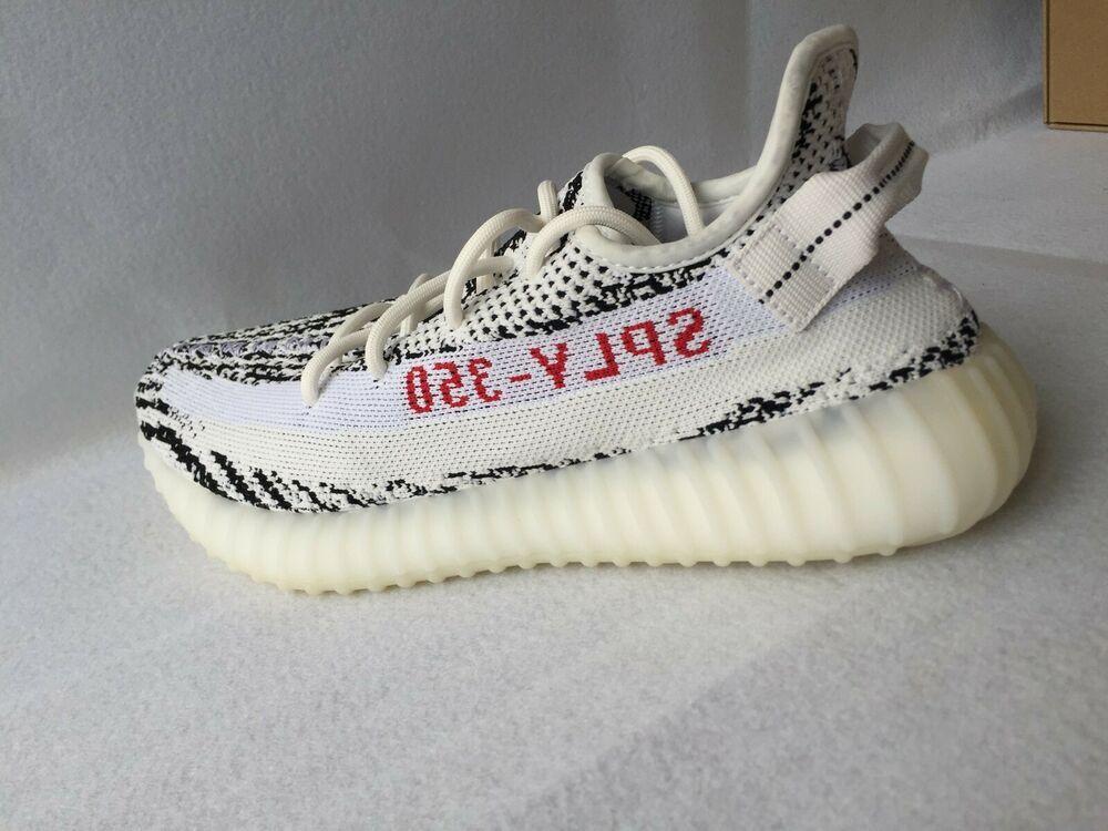 adidas yeezy zebra ebay