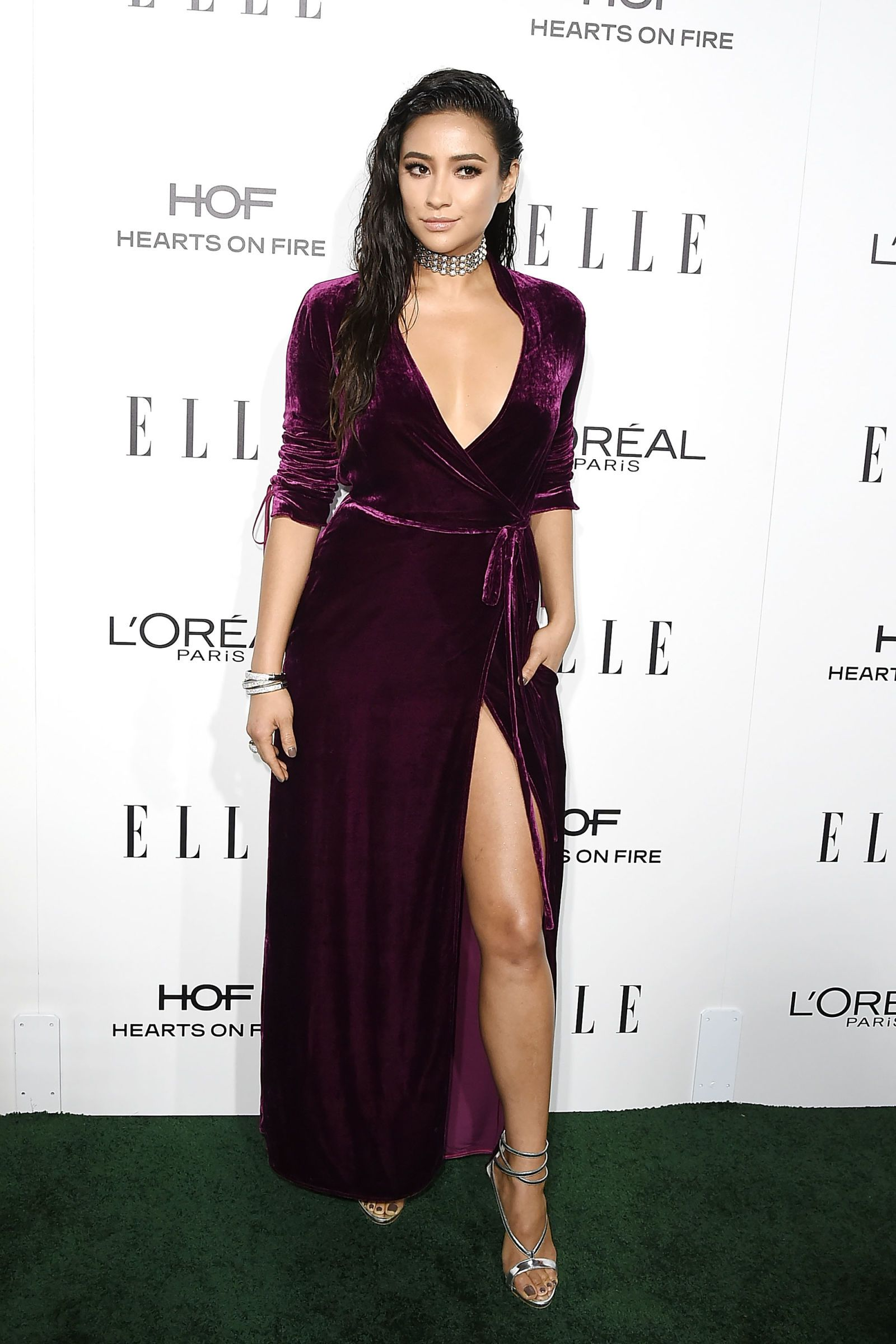 f3fa8c8de8 Shay Mitchell - ELLE.com. Find this Pin and more on The Gown ...