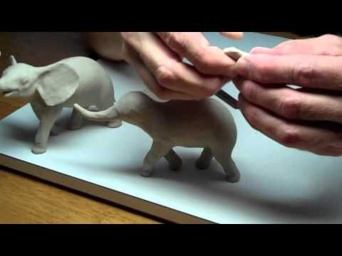 Learn Sculpting - Lesson 1 - Clay Modeling - YouTube