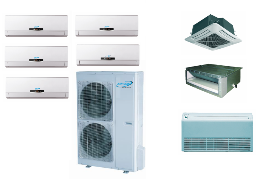 AirCon 5 Zone in Our ductless mini