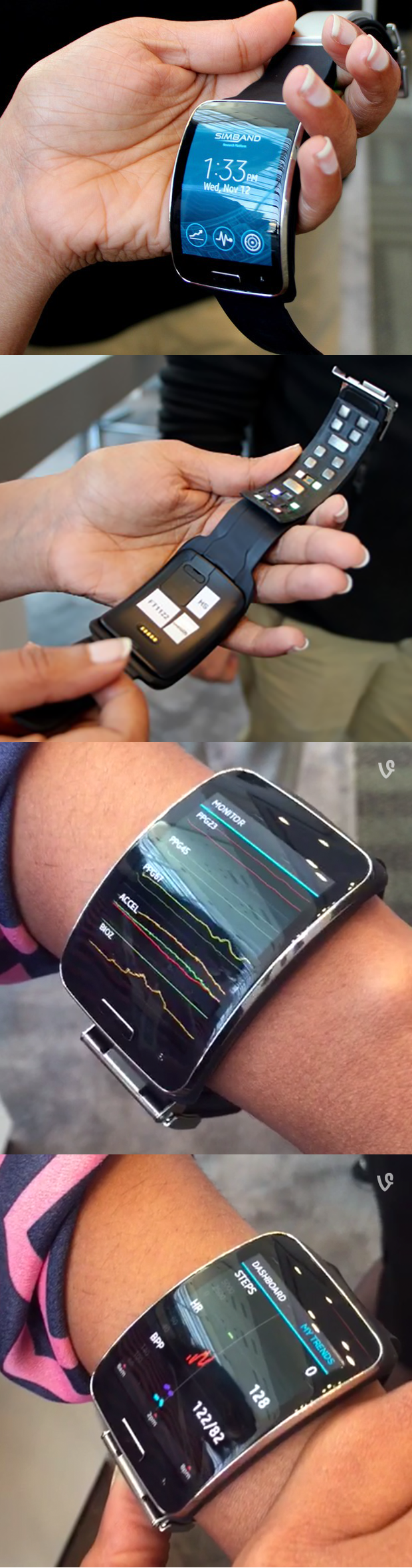 The Simband, created by Samsung is intended to be used by those within the medical industry — startups and medical researchers alike to develop new applications for sensor technology