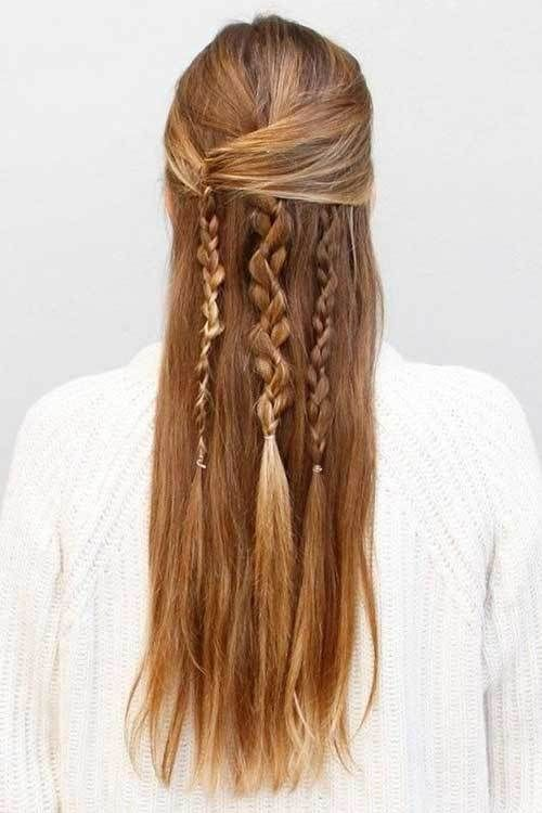 20 More Long Hair Braids Styles 11 Boho Hairstyle With Different